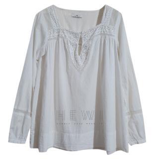 Day Birger & Mikkelsen white cotton blouse