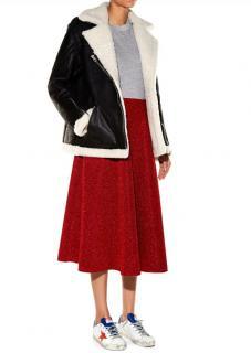 Golden Goose Deluxe Brand Sheepskin Aviator Jacket
