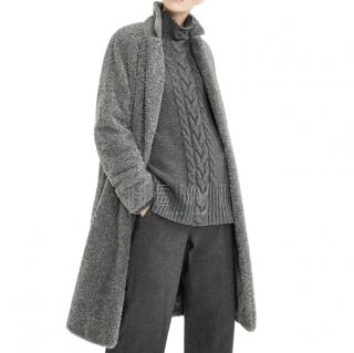 Max Mara Cable Knit Wool & Cashmere Jumper