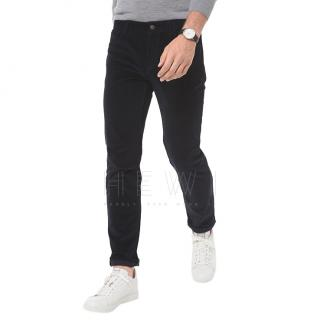 Michael Kors black velvet cord trousers