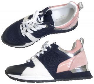 Louis Vuitton Navy & Pink Runaway Sneakers