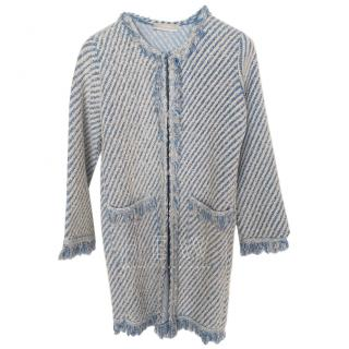 Stefanel Tweed Knit Coat