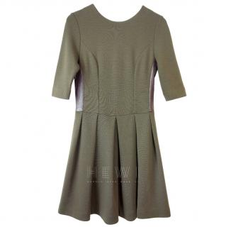 Irwin & Jordan Khaki Skater Dress