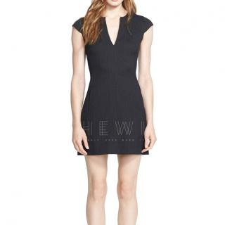 L'Agence Black Tailored Mini Dress
