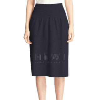 Joseph Wool Knit A-Line Skirt
