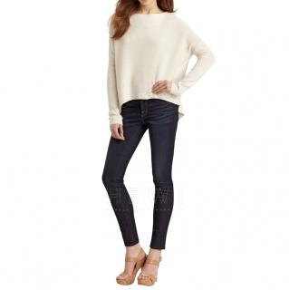Theory Oversize Cashmere Blend Sweater