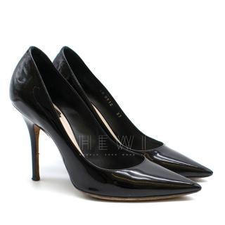 Christian Dior Patent Leather Black Pumps
