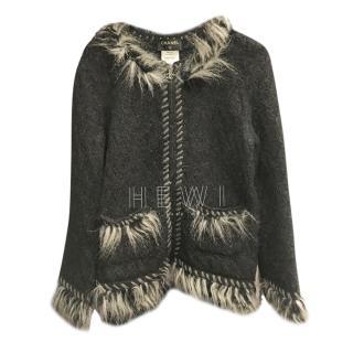 Chanel Alpaca & Cashmere Blend Jacket