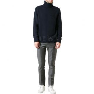 Acne Studios Navy wool 'chet p' sweater