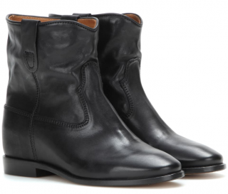 Isabel Marant Black Cluster Leather Boots