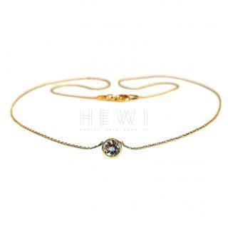 Mappin & Webb 1ct Topaz Yellow Gold Bracelet