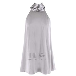 Galvan London Silver Sash Neck Tunic
