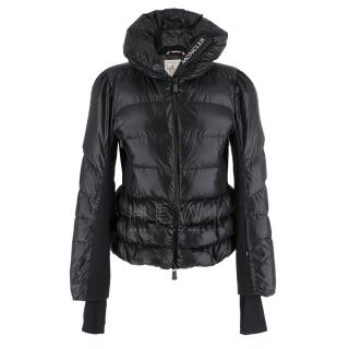 Moncler Black Down Puffer Ski Jacket