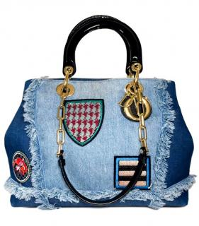 Dior Denim D Light Limited Edition Tote Bag
