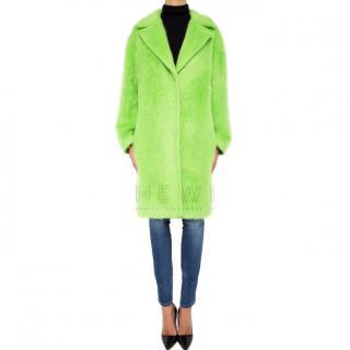 Emilio Pucci Knee-length alpaca-virgin wool coat