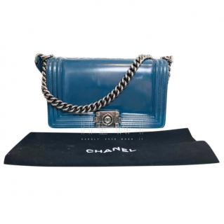 Chanel Blue Limited Edition Boy Bag