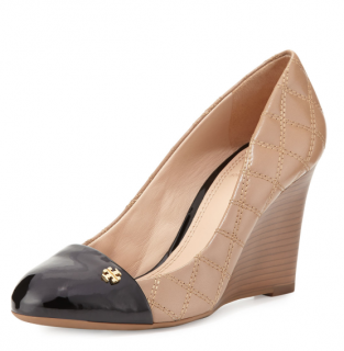 Tory Burch Claremont Quilted Wedge Pump