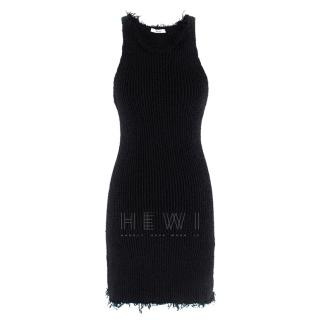 Celine Silk Knit Mini Dress