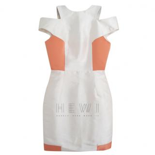 William Tempest Silk Pencil Cut Out Dress