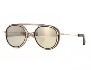 Dita Black & Gold Spacecraft Sunglasses