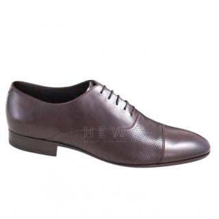 Emporio Armani Cap Toe Oxford Loafers