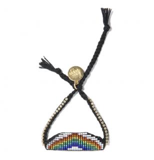 Venessa Arizaga Beaded Rainbow Bracelet