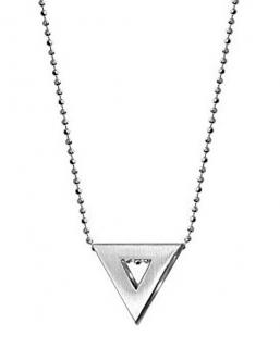 Alex Woo silver triangle necklace