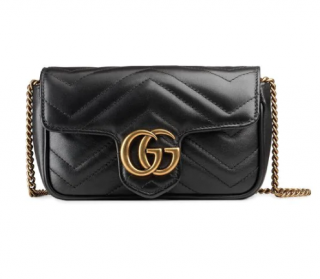 Gucci GG Marmont Matelass� Leather Super Mini Bag