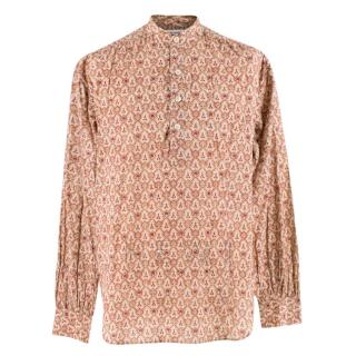 Saint Laurent Floral Paisley Print Shirt