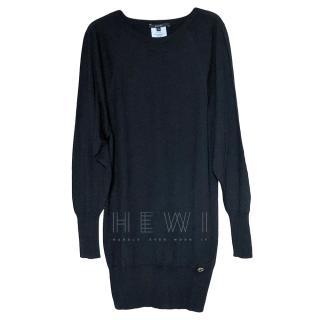 Gucci Black Silk, Wool & Cashmere Black Sweater