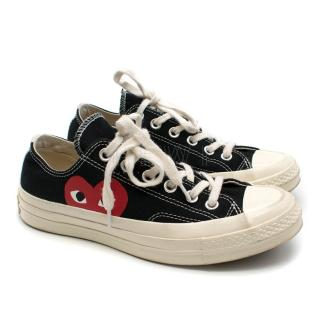 Comme des Garcons Converse Chuck Taylor Low Top Sneakers
