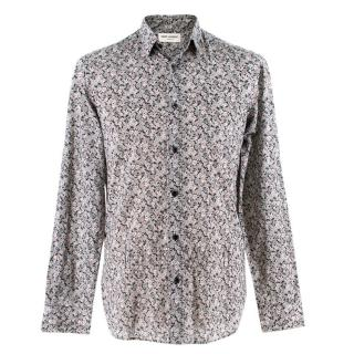 Saint Laurent Floral Patterned Shirt