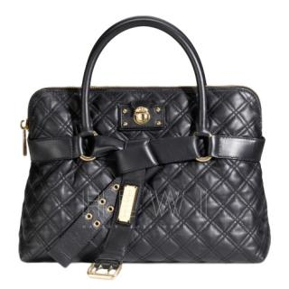 Marc Jacobs Black Bruna Classic Quilted Bag