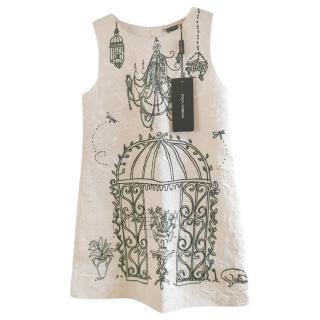 Dolce & Gabbana Runway Brocade Girl's Dress