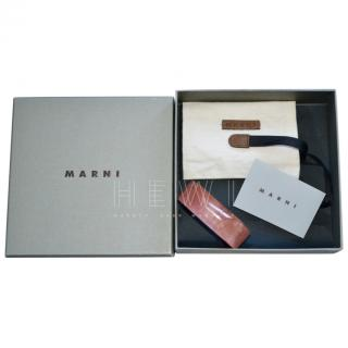 Marni Resin Natural Horn Bangle