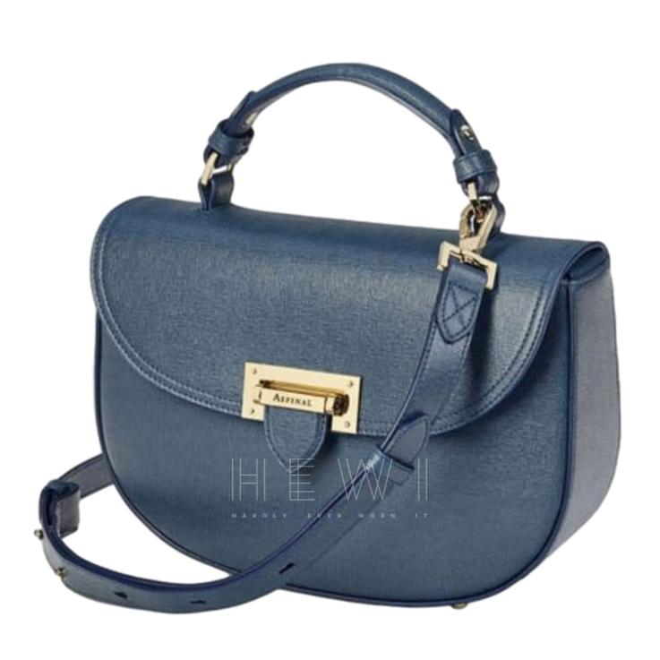 Aspinal of London Letterbox Bag in Blue