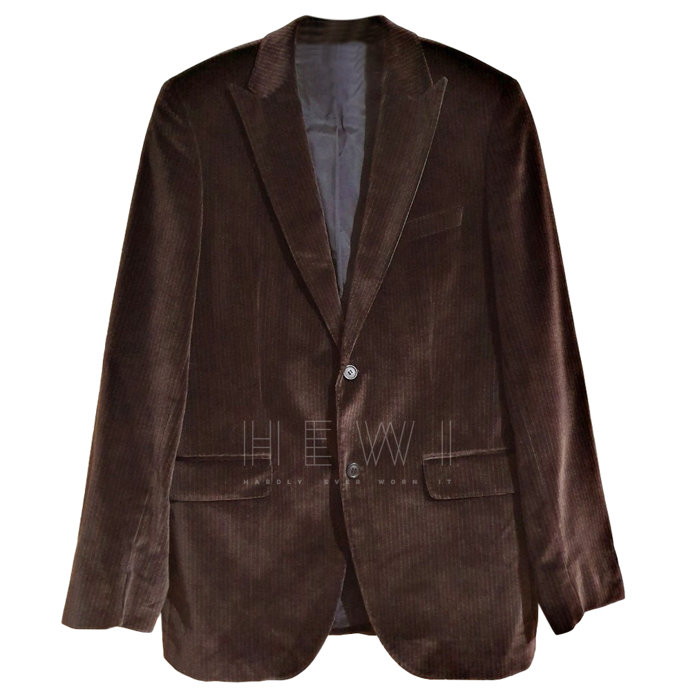 Boss brown corduroy blazer