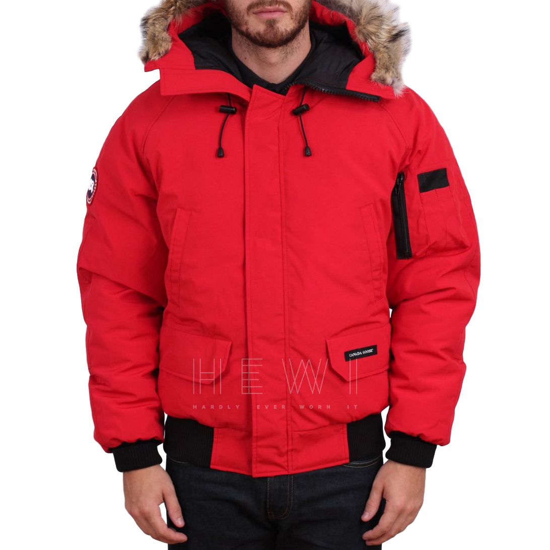 Canada Goose Red Chilliwack Jacket