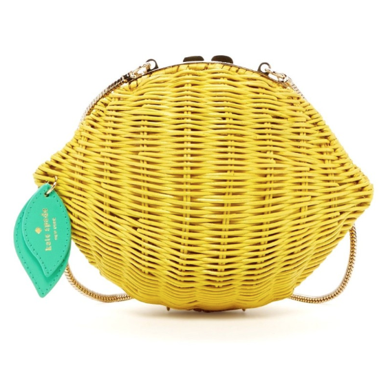 Kate Spade Vita Riva Lemon Bag