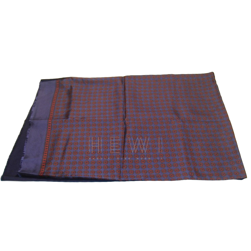Dunhill Men's Silk & Wool Printed Scarf