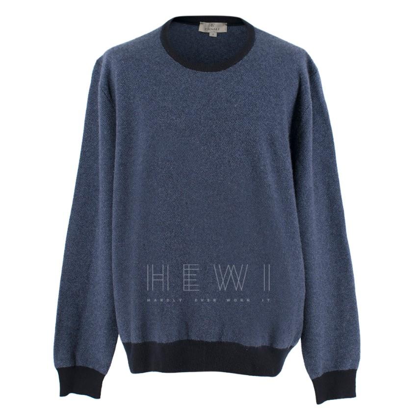 Canali Men's cashmere sweatshirt