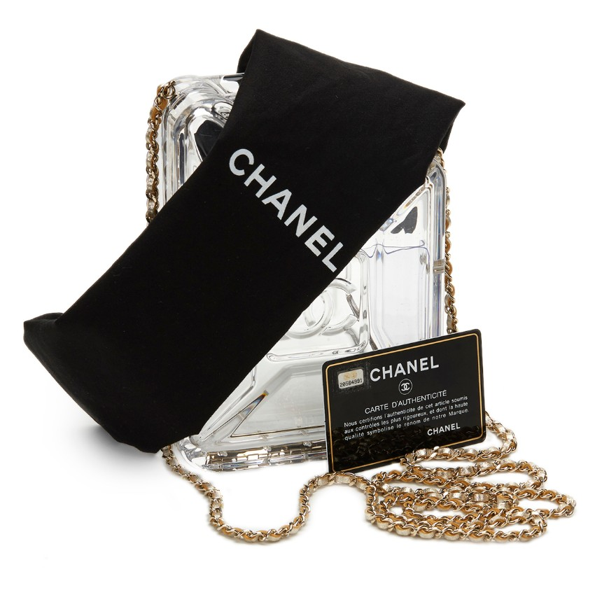 Chanel Dubai by Night Gas Can Minaudi�re Plexiglass Bag