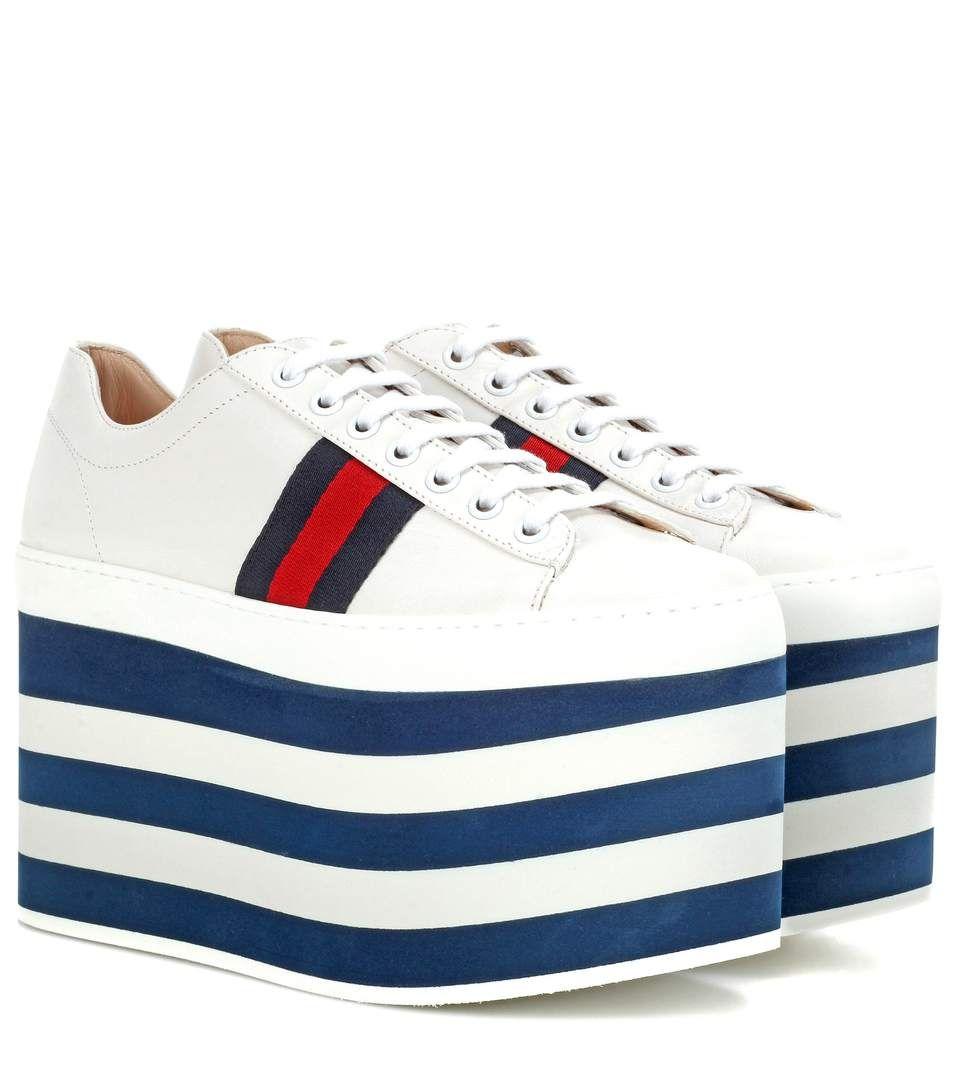 Gucci Platform Ace Sneakers
