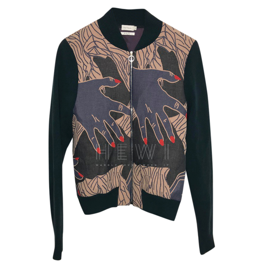 Paul Smith Men's Printed Bomber Jacket