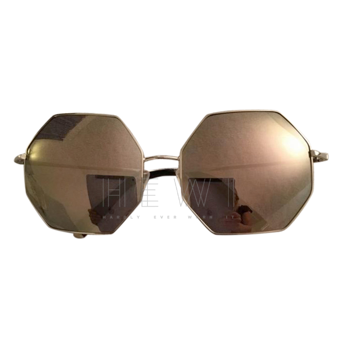 Linda Farrow/Matthew Williamson hexagonal sunglasses