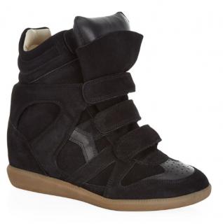 Isabel Marant Bekett Suede Wedge Sneakers