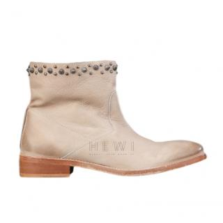 Zadig & Voltaire Marlow Boot in Natural