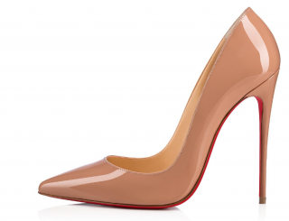 Christian Louboutin nude 120 pumps