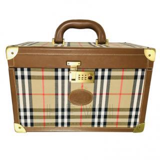 Burberry Vintage Nova Check Vanity Case