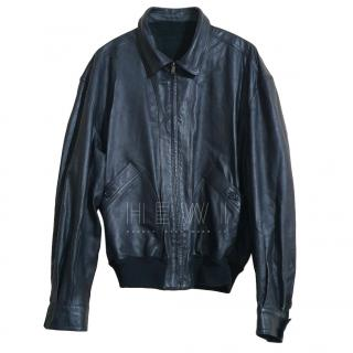 Bally Men's Black Leather Jacket
